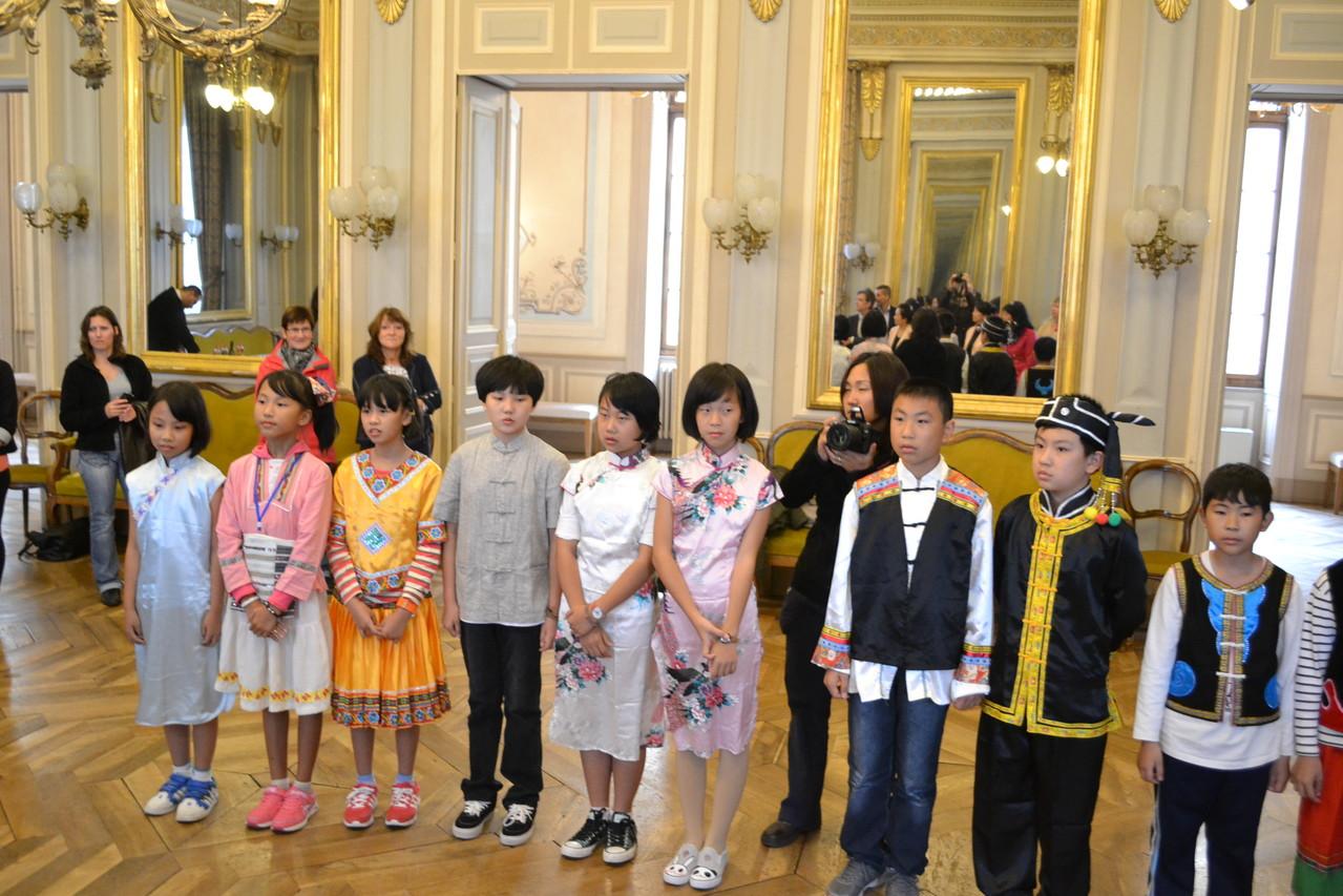 Réception à la mairie d'Annecy