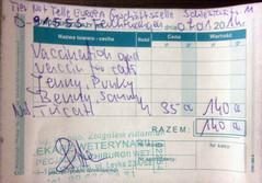 1 Rechnung für Jenny, Punky, Benny, Sanny