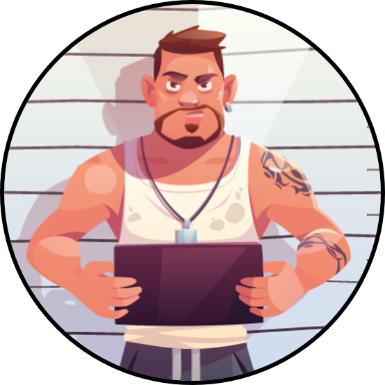 TIPS Storyline Visuel attractif image dans forme ronde