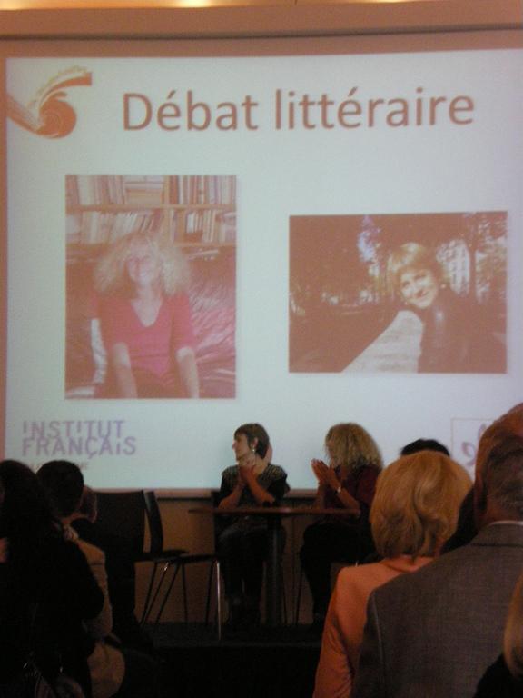 Spannende Literaturdebatte