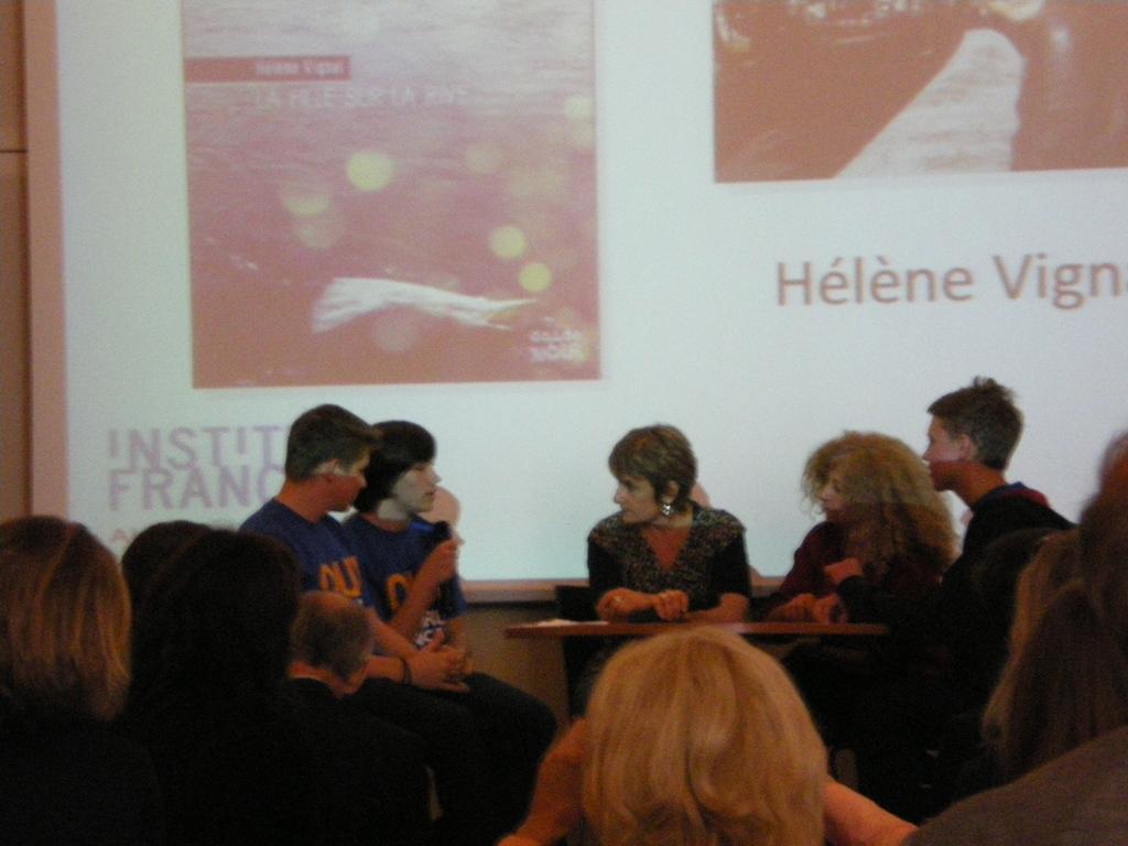 Debatte mit Autorin Hélène Vignal