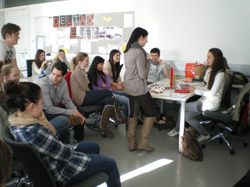 Kundengespräche mit Produktinformation über Fair Trade