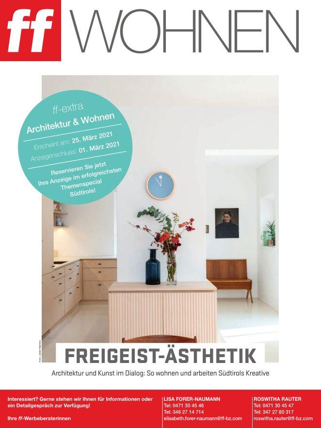 Unser Laubenhausprojekt im FF-Magazin