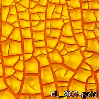 Facettenlack gold