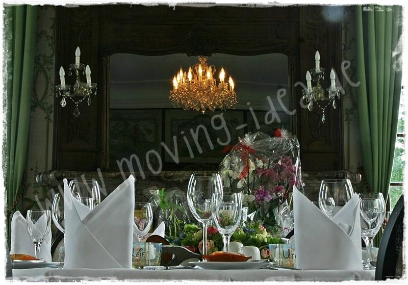 Idee Tischdeko Hochzeit schön