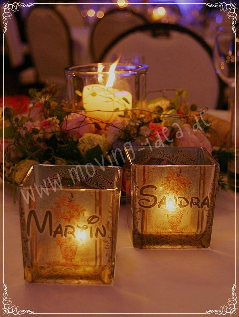 Dekoidee Hochzeit originell
