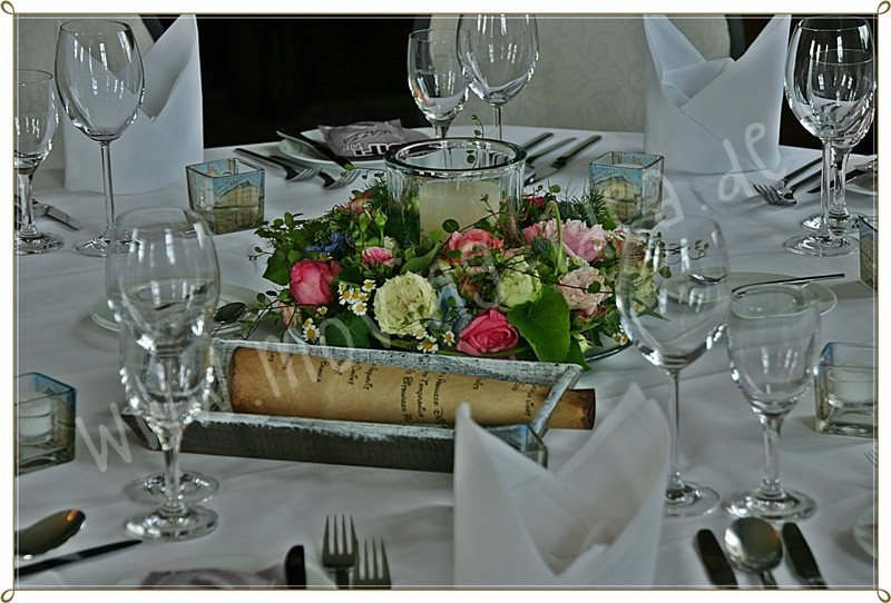 Schöne Deko Hochzeit