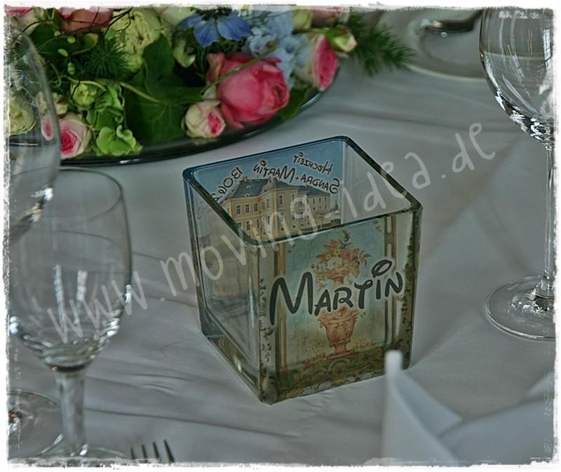 Idee Hochzeit Deko Tisch