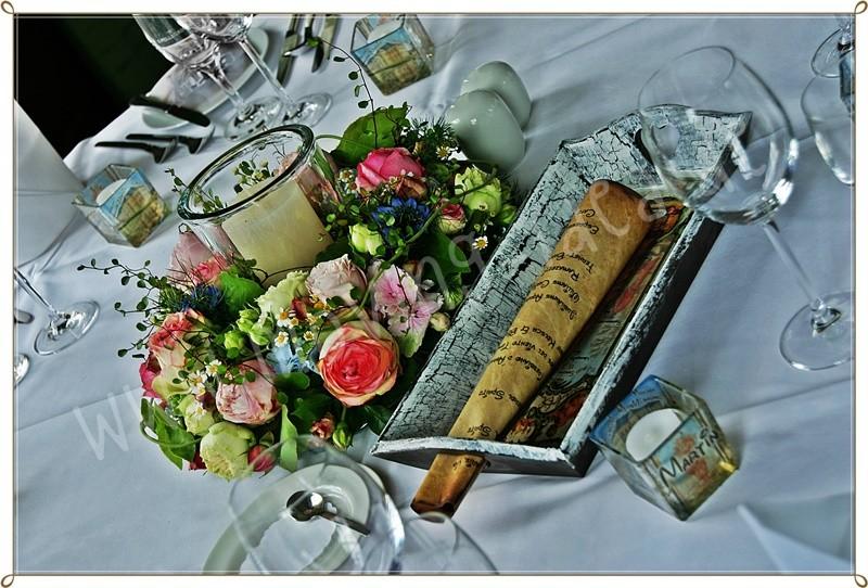 Menüfkärtchen Hochzeit