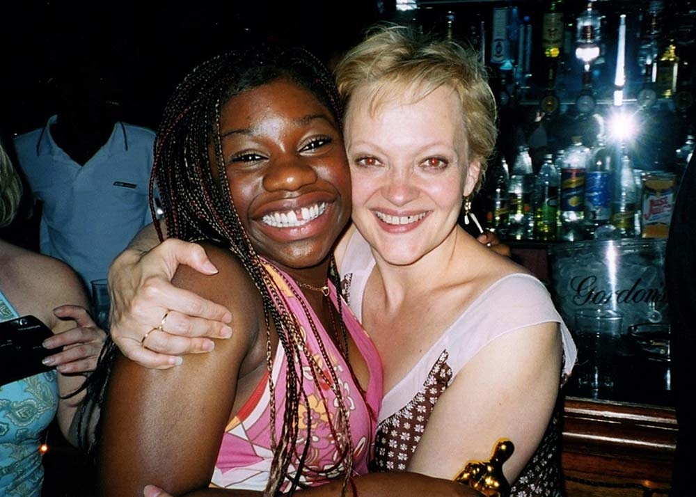 Cast party with Maria Friedman