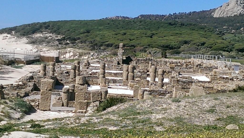 ein römisches Dorf ... direkt neben dem Surferparadies