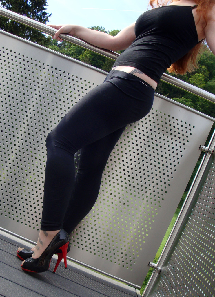 Duft Baumwoll Leggings - auch ohne Slip mgl ;) - Sophia
