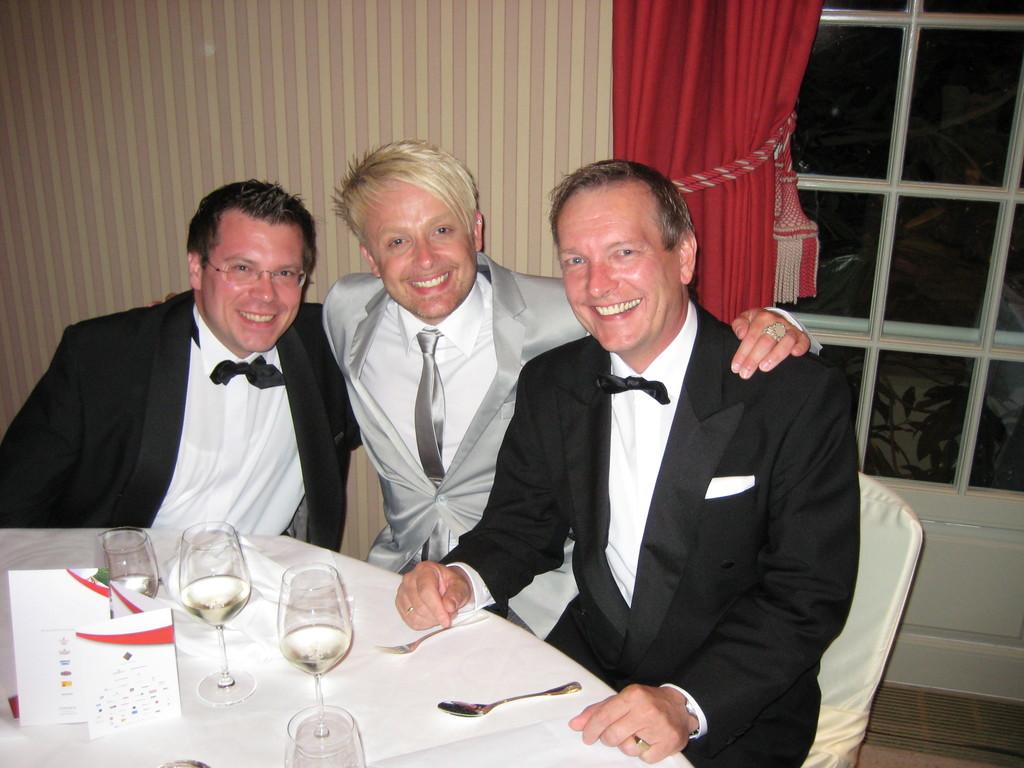 Frank Füglein, Ross Antony, Michael Hofmann
