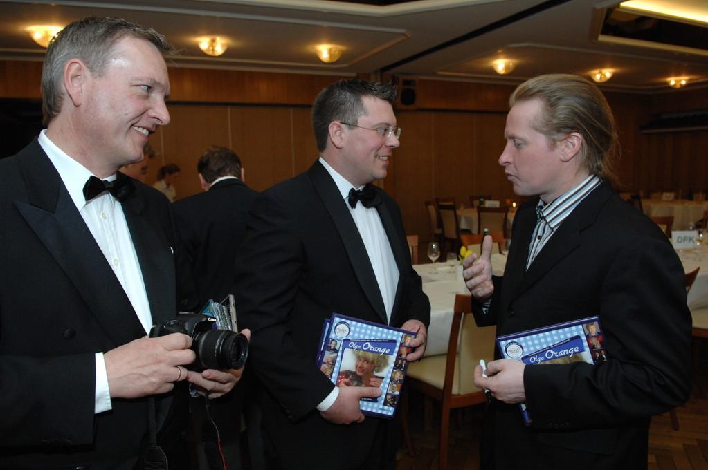 Frank Füglein und Michael Hofmann im Gespräch mit Joey Kelly
