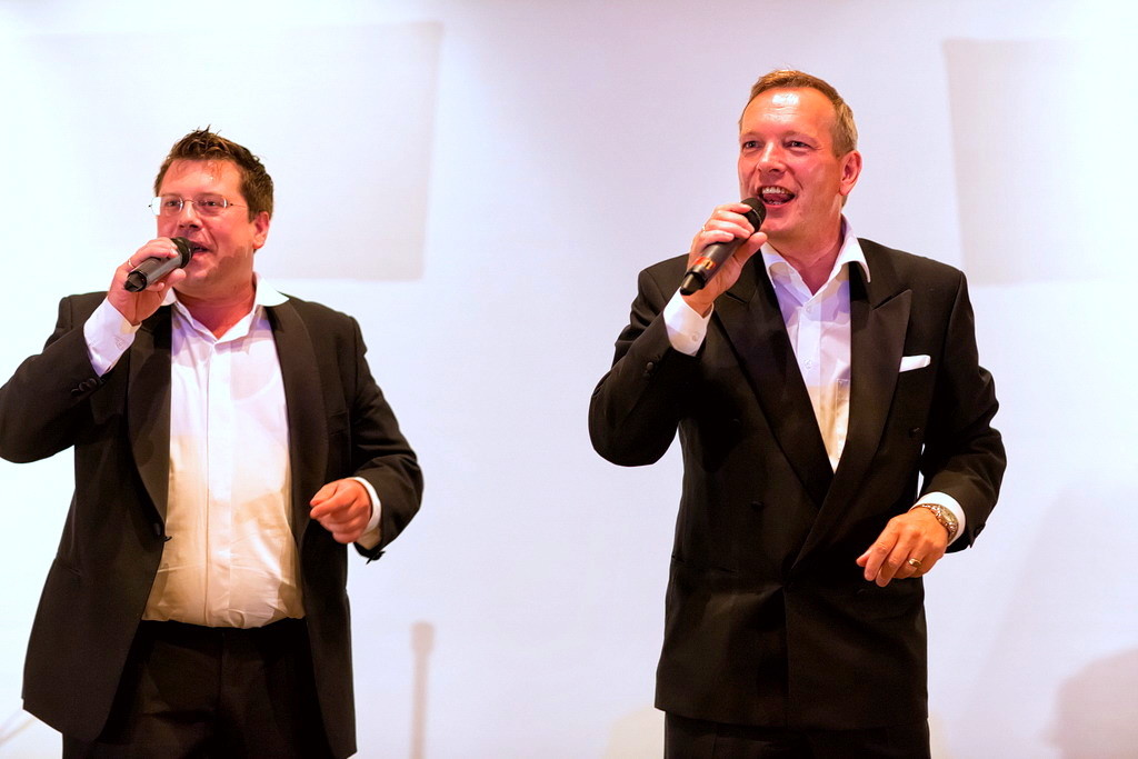 Die Tenders, Michael Hofmann und Frank Füglein