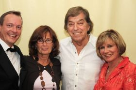 Michael Hofmann mit Bata Illic und Mary Roos