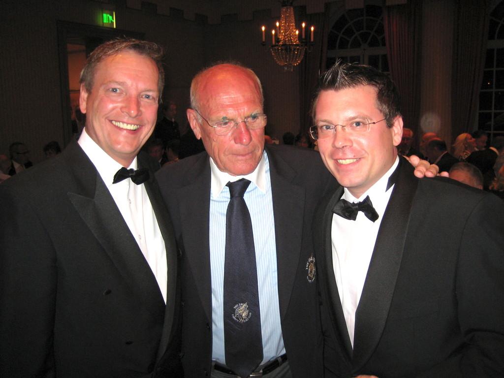 Michael Hofmann, Rudi Altig (Deutscher Profi-Radrennfahrer) und Michael Hofmann