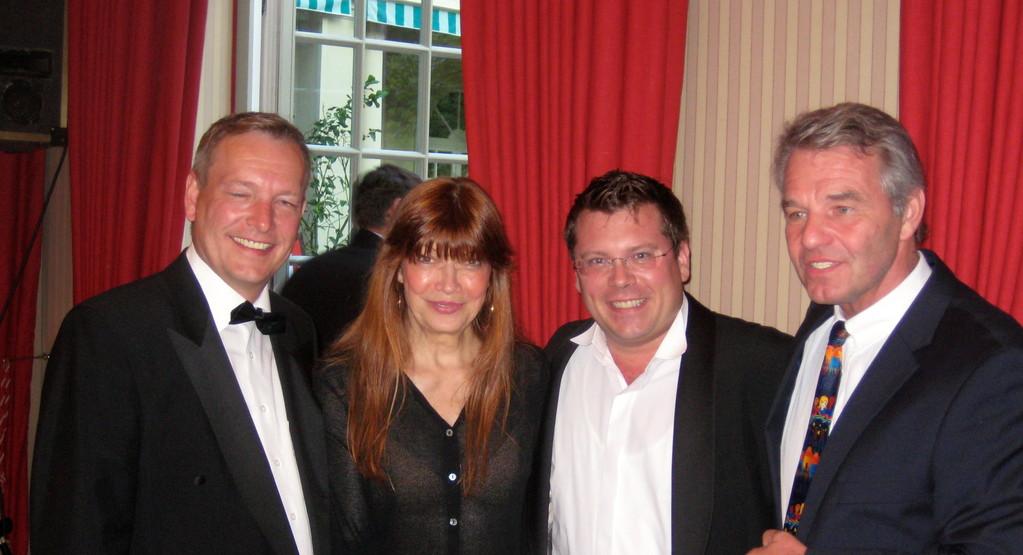 Michael Hofmann, Katja Ebstein, Frank Füglein und Dr. Dieter Kindermann