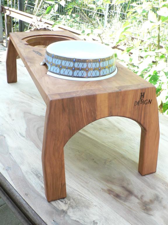Holzgestell aus Birnbaum