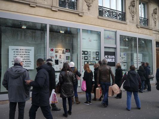 """""""Je suis Charlie"""" / 11 au 31 janvier 2015"""
