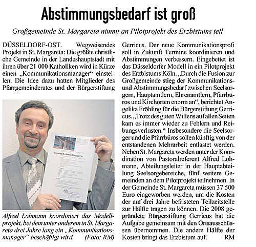 13.01.2012, Kirchenzeitung