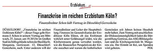 20.01.2012, Kirchenzeitung