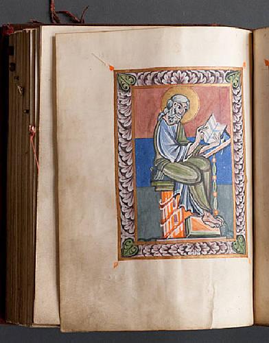 Miniatur des Evangelisten Lukas (Foto: Marcus Pietrek)