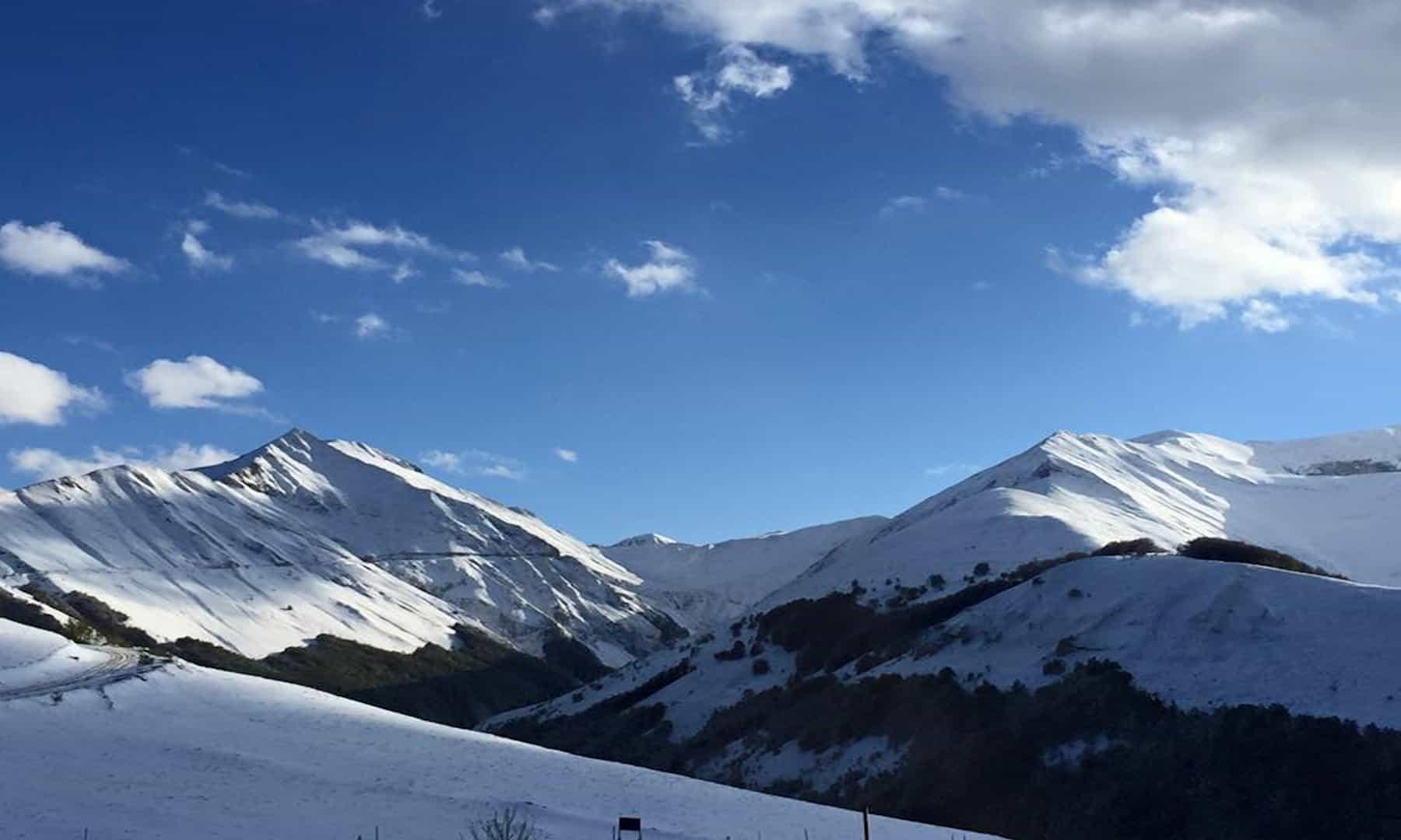 """Ascoli e il Monte Vettore su """"Linea Bianca"""""""