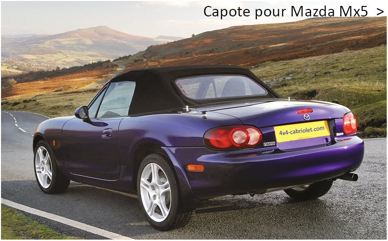 Capote pour Mazda Mx-5