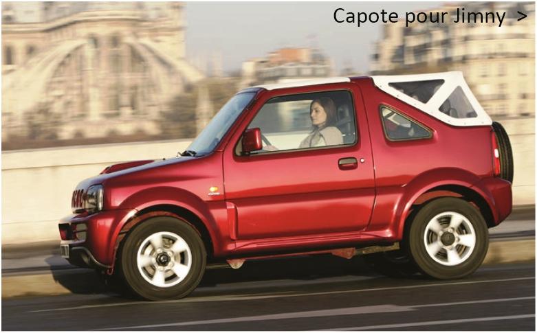 Capote de remplacement pour Suzuki Jimny
