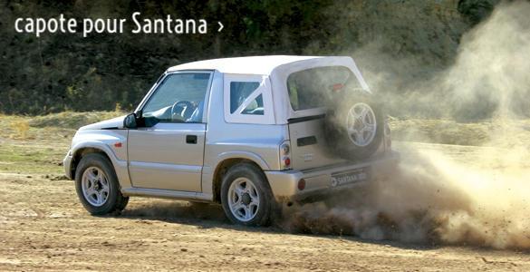 Bache pour Santana proposée sur 4x4cabriolet.com