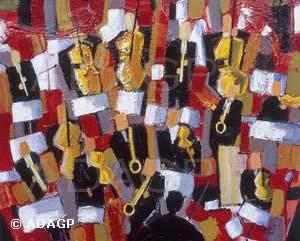 L'orchestre, vendue, collection particulière