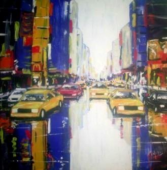 Les taxis, vendue, collection privée