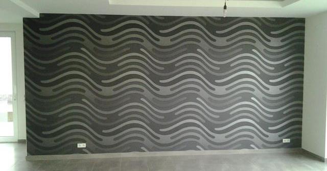 Wandgestaltung Tapete Innenraum