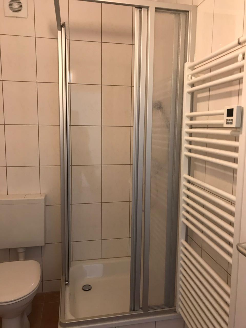 Badzimmer mit Heizkörper