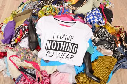 Ich habe nichts zum anziehen