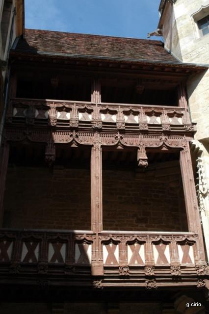 visite 34 rue des Forges balcon intérieur