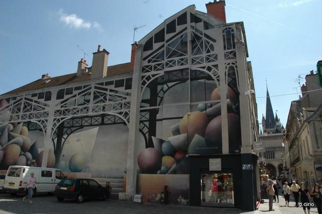 Place du marché et rue Musette
