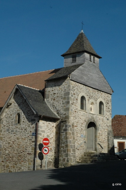 Arnac-Pompadour, chapelle St Blaise