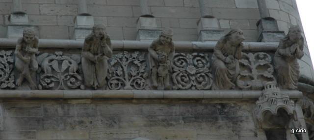 Gargouilles église Notre Dame