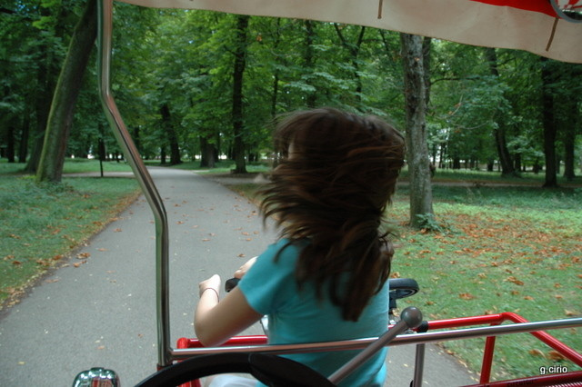 visite du parc en ROSALIE