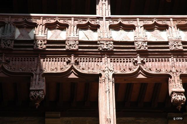 visite 34 rue des Forges détail balcon