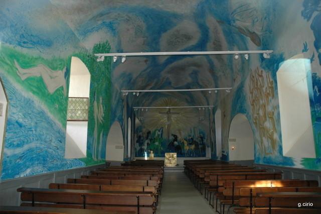 intérieur de la chapelle St Blaise