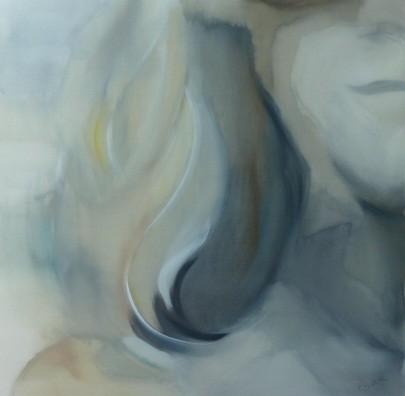 Lebenslinien 12 Acrylfarbe auf Leinwand   100 x 100 cm XL
