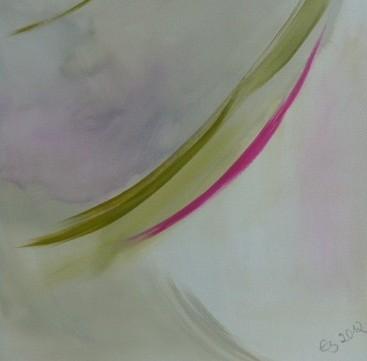 Lebenslinien 17 Acrylfarbe auf Leinwand  40 x 40 cm