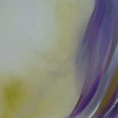 Lebenslinien 22 Acrylfarbe auf Leinwand  40 x 40 cm