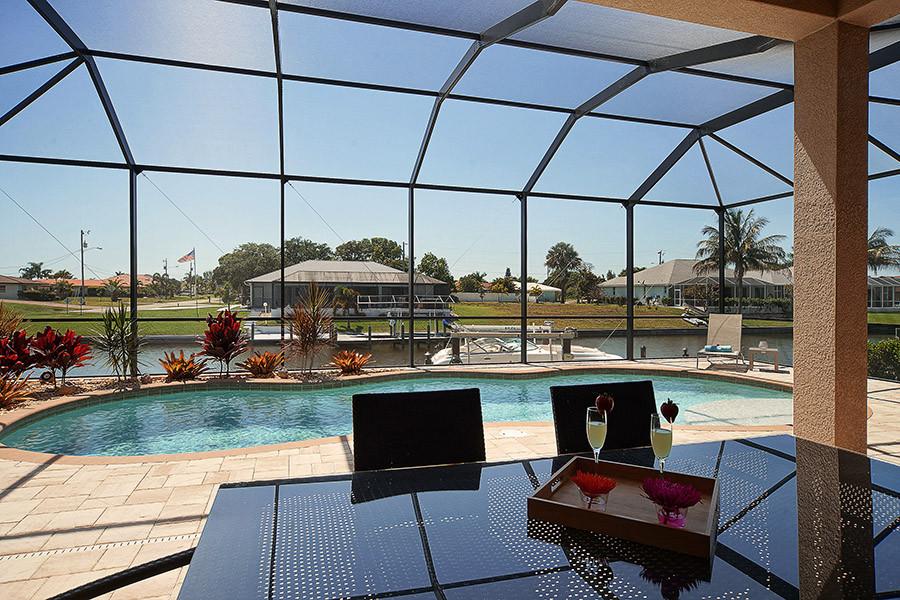 Terrasse / Poolbereich - Villa Cape Star