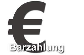 Barzahlung bei Abholung in Versmold