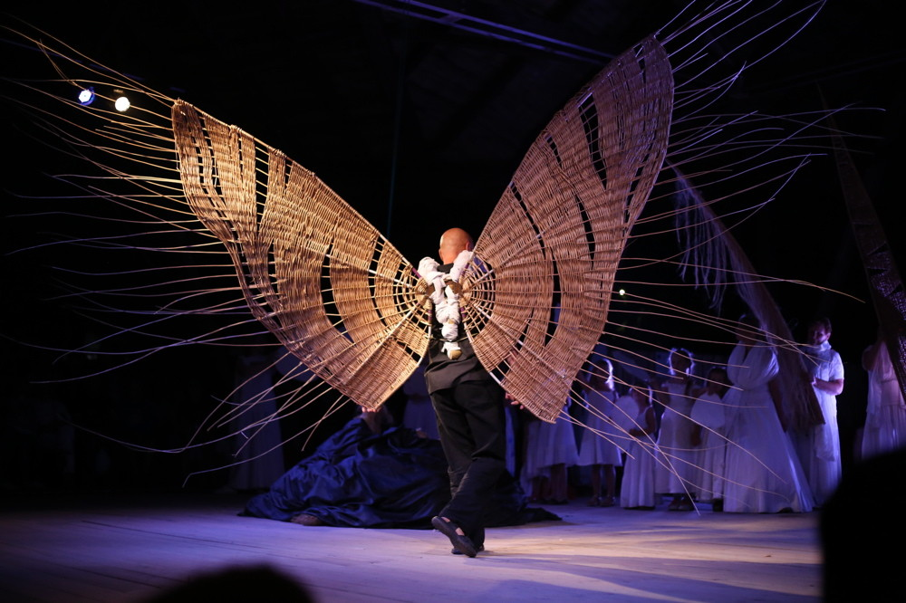 Performance , musique live, danse, osier, willow art fundation