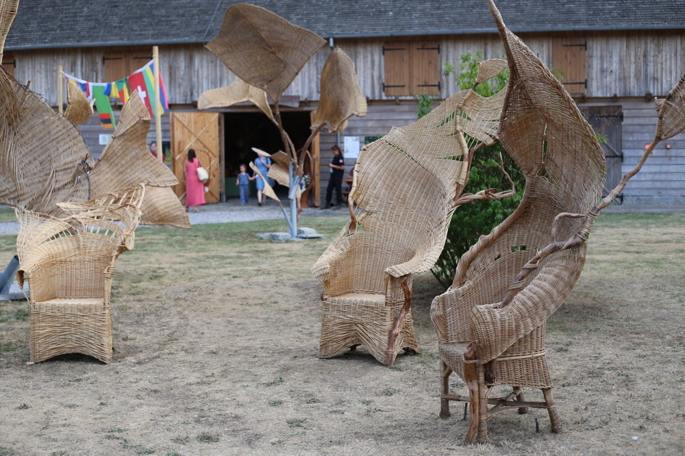 installation Stepak, willow art fundacie, Pologne